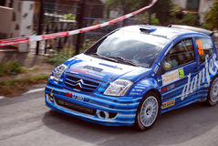 Rally Sanremo 2008 Stock Photos