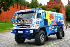 Rally Silkway 2011 Royalty Free Stock Photography