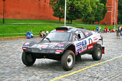 Rally Silkway 2011 Stock Photos