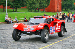 Rally Silkway 2011 Royalty Free Stock Photo