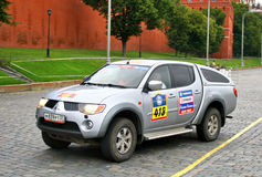Rally Silkway 2011 Royalty Free Stock Image