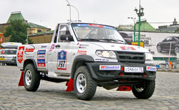 Rally Silkway 2011 Royalty Free Stock Images