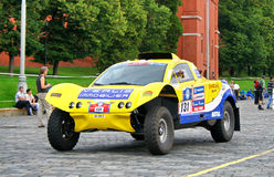 Rally Silkway 2011 Stock Photography