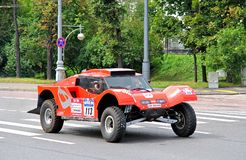 Rally Silkway 2012 Royalty Free Stock Image
