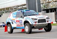 Rally Silkway 2012 Stock Photography