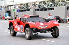 Rally Silkway 2012 Stock Image