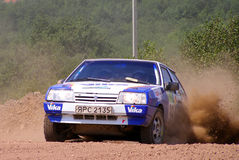 Rally Southern Ural 2007 Royalty Free Stock Photo
