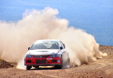 Rally Southern Ural 2007 Royalty Free Stock Images