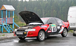Rally Southern Ural 2008 Royalty Free Stock Image