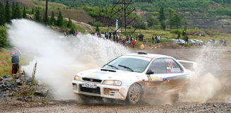 Rally Southern Ural 2009 Royalty Free Stock Photos