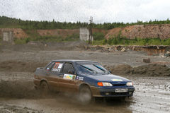 Rally Southern Ural 2009 Royalty Free Stock Images