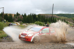 Rally Southern Ural 2009 Stock Images