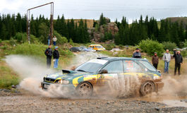Rally Southern Ural 2009 Royalty Free Stock Image