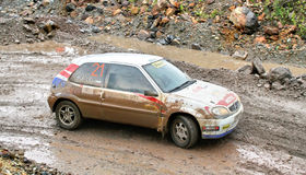 Rally Southern Ural 2009 Stock Photo