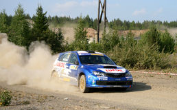 Rally Southern Ural 2010 Stock Photos