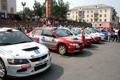 Rally Southern Ural 2010 Stock Photo
