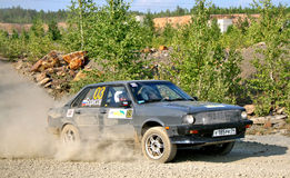 Rally Southern Ural 2010 Royalty Free Stock Image