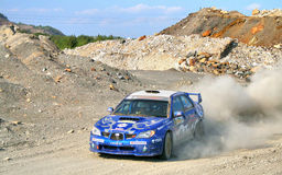 Rally Southern Ural 2010 Stock Image