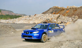 Rally Southern Ural 2010 Royalty Free Stock Images