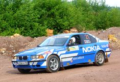 Rally Southern Ural 2011 Stock Photo