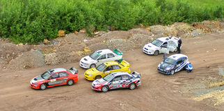 Rally Southern Ural 2011 Royalty Free Stock Photos