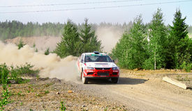 Rally Southern Ural 2011 Royalty Free Stock Photo