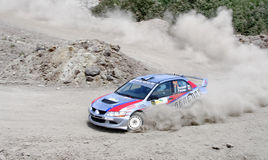 Rally Southern Ural 2011 Stock Images