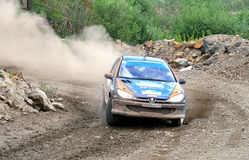 Rally Southern Ural 2013 Royalty Free Stock Photography