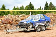 Rally Southern Ural 2012 Royalty Free Stock Photo