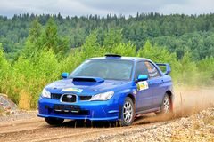 Rally Southern Ural 2012 Stock Photography