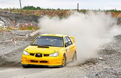 Rally Southern Ural 2012 Royalty Free Stock Images