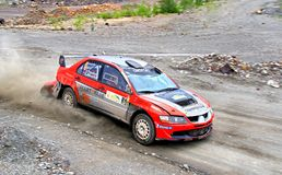 Rally Southern Ural 2012 Royalty Free Stock Image