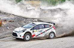 Rally Southern Ural 2012 Stock Images