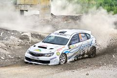 Rally Southern Ural 2012 Stock Photos