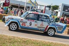 Rally-spec Lada 2105 Stock Photography