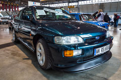 Rally special car Ford Escort RS Cosworth, 1993. Stock Image