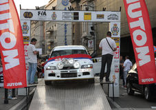 Rally. Start of the Fourth Belgrade Rally, 27th-28th of April 2013 Royalty Free Stock Photos