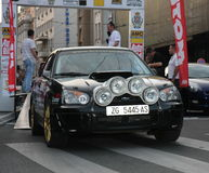 Rally. Start of the Fourth Belgrade Rally, 27th-28th of April 2013 Royalty Free Stock Images