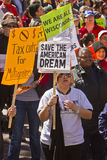 Rally To Save The American Dream Royalty Free Stock Photo
