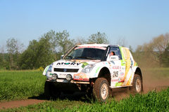 Rally Transorientale 2008 Stock Photography