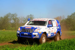 Rally Transorientale 2008 Royalty Free Stock Photo