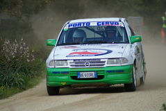 Rally Trofeo Terra 2008 - Sardinia Stock Photography