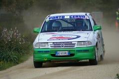 Rally Trofeo Terra 2008 - Sardinia. Rally Italia - Sardegna 2008 - 15/18 May 2008 - Campionato Italiano Trofeo Rally Terra - Driver BUSCARINI Ferdinando - Opel stock photography