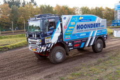 Rally truck of Adwin Hoondert Stock Photography