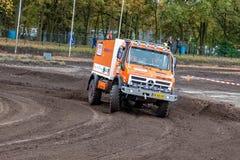 Rally truck of Kornelis Offringa Stock Photo