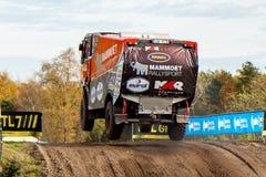 Rally truck of Martin van den Brink Royalty Free Stock Photos