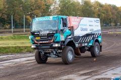 Rally truck of Ton van Genugten Royalty Free Stock Photography