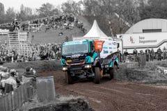 Rally truck of Ton van Genugten Royalty Free Stock Images
