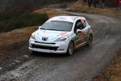 Rallye蒙特卡洛2014年 图库摄影