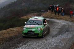 Rallye蒙特卡洛2014年 库存照片